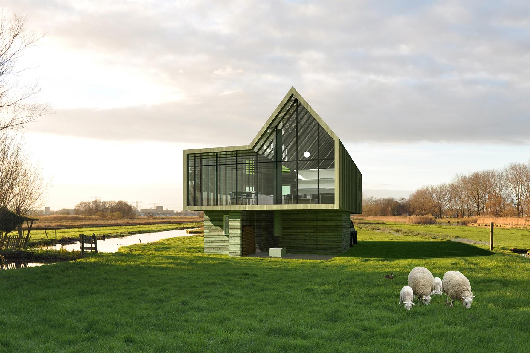 Lab03 houten huis for Hout huis